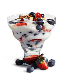 Yogurt Berry Parfait April