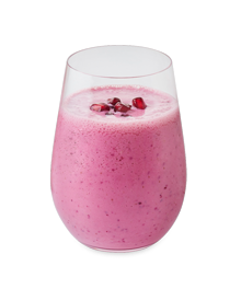 Cranberry Pomegranate Smoothie Results