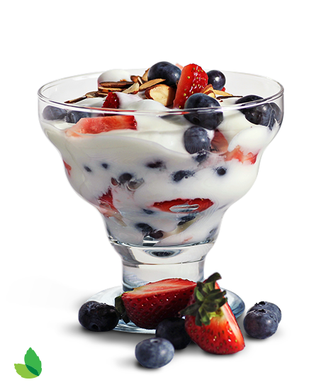 detail Yogurt Berry Parfait 3
